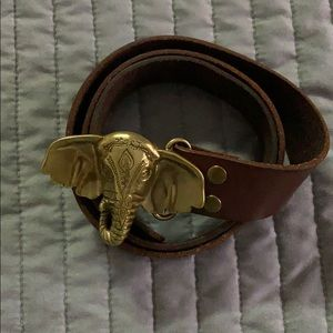 Lucky Brand Elephant belt